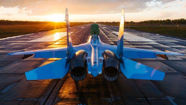 Wielozadaniowy samolot bojowy Su-30SM - Sputnik Polska