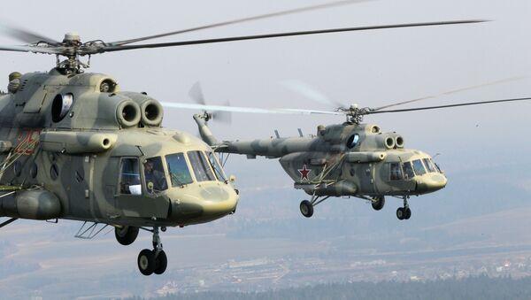 Śmigłowce wielozadaniowe Mi-17 - Sputnik Polska