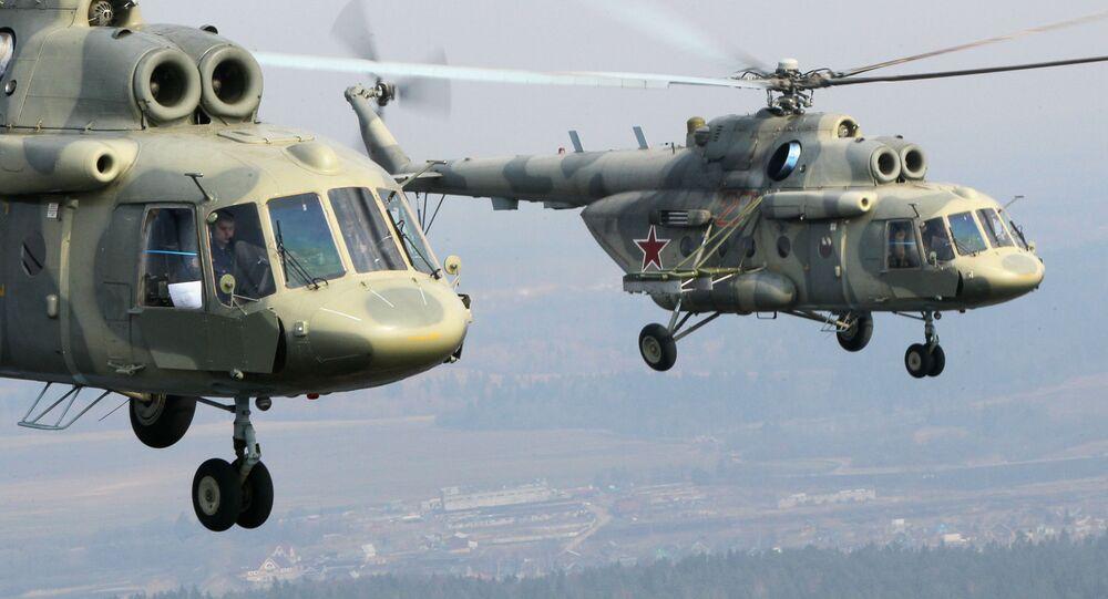 Śmigłowce wielozadaniowe Mi-17