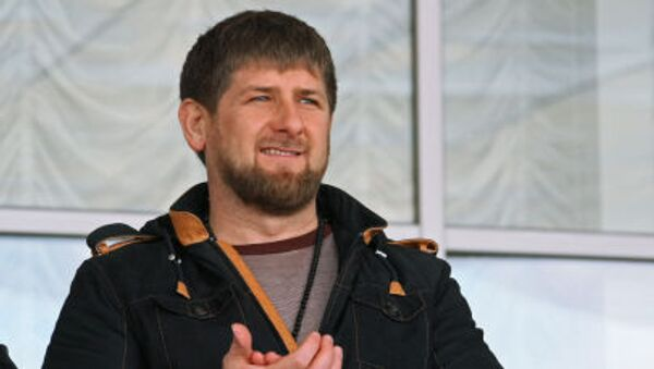 Szef Republiki Czeczeńskiej Ramzan Kadyrow - Sputnik Polska