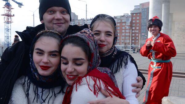 Festiwal Moja Rosja w Krasnojarsku - Sputnik Polska