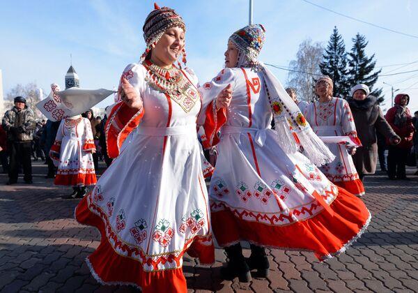 Obchody Dnia Jedności Narodowej w Krasnojarsku - Sputnik Polska