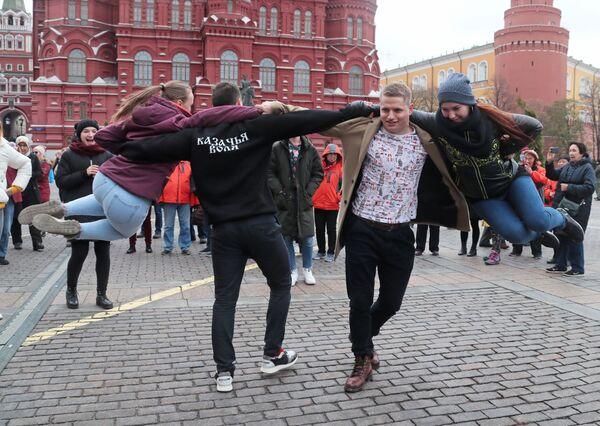 Obchody Dnia Jedności Narodowej w Moskwie - Sputnik Polska