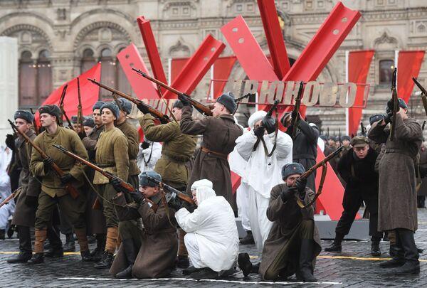 Генеральная репетиция марша, посвященного 78-й годовщине военного парада 1941 года - Sputnik Polska