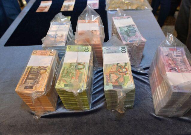 Białoruskie pieniądze