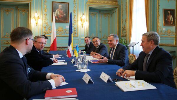 Posiedzenie Komitetu Konsultacyjnego Prezydentów Polski i Ukrainy. - Sputnik Polska