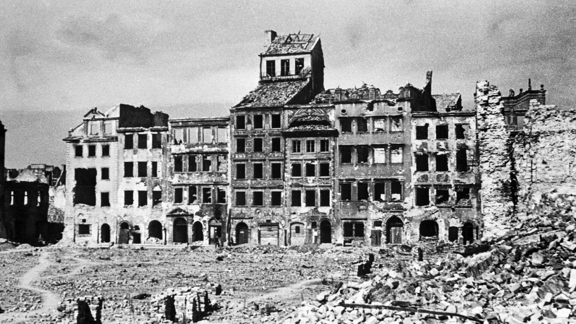 Warszawa podczas II wojny światowej  - Sputnik Polska, 1920, 02.08.2021