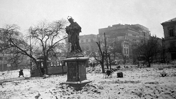 Wyzwolona Warszawa, 1945 rok  - Sputnik Polska
