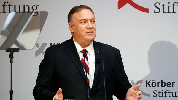 Sekretarz stanu USA Mike Pompeo - Sputnik Polska