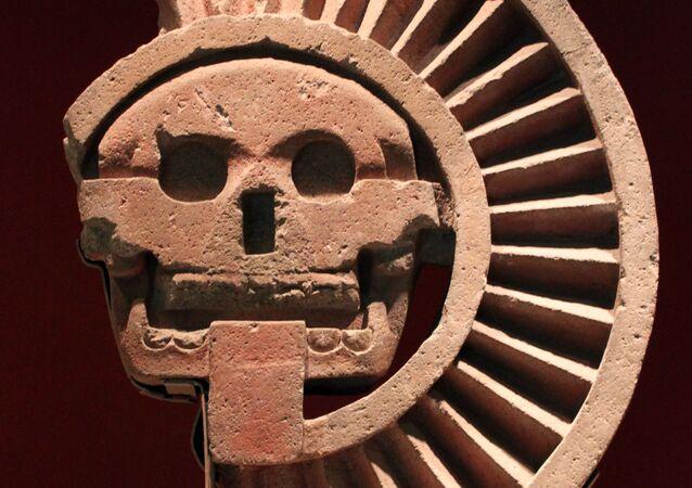 Aztecki bóg martwych Mictlantecuhtli