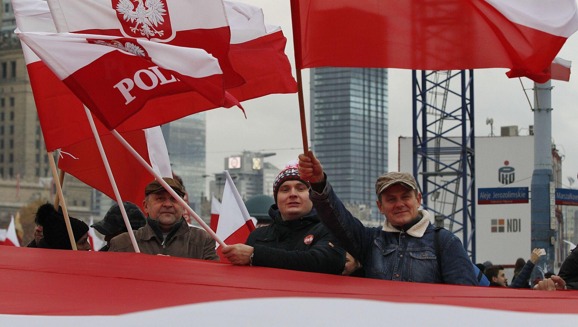 Polska flaga - Sputnik Polska, 1920, 25.03.2021