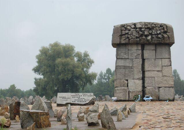 Pomnik upamiętniający ofiary obozów Treblinka-1 i Treblinka-2