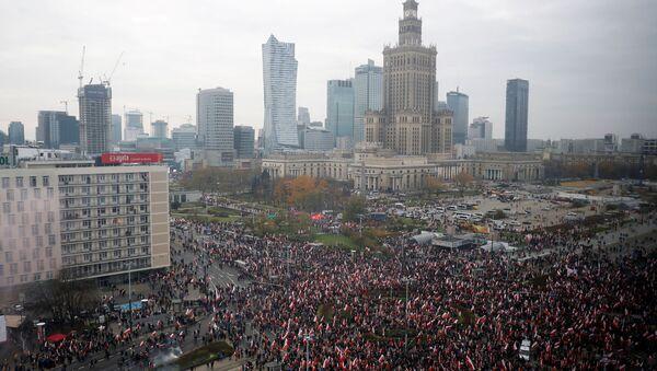 Narodowe Święto Niepodległości 2019, Warszawa  - Sputnik Polska