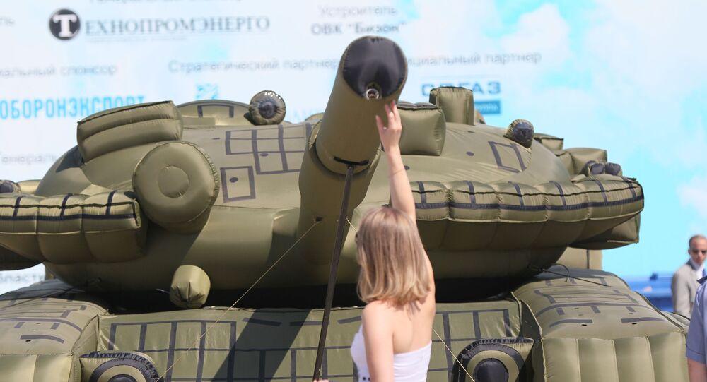 Dmuchany czołg
