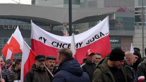 Marsz Niepodległości 2019 w Warszawie - Sputnik Polska