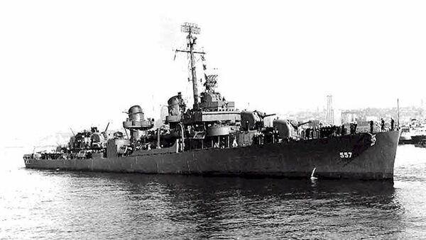 Amerykański niszczyciel  USS Johnston (DD-557) - Sputnik Polska