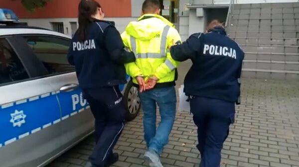 Polska policja zatrzymała pijanego kierowcę - Sputnik Polska