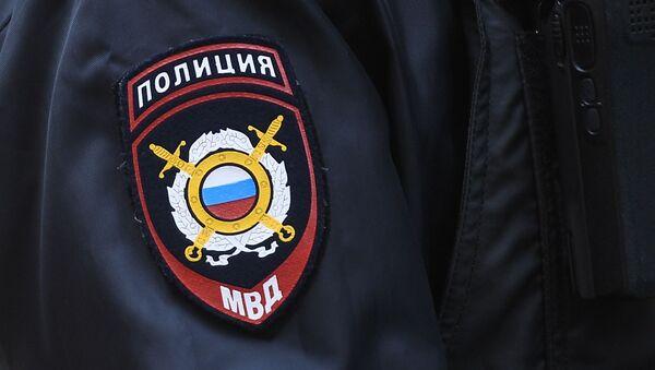 Naszywka na rękawie policjanta - Sputnik Polska