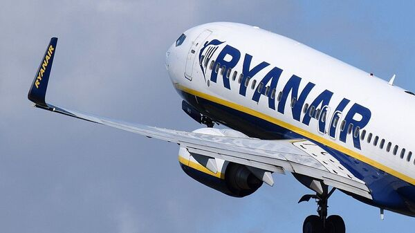 Boeing 737 Ryanair - Sputnik Polska