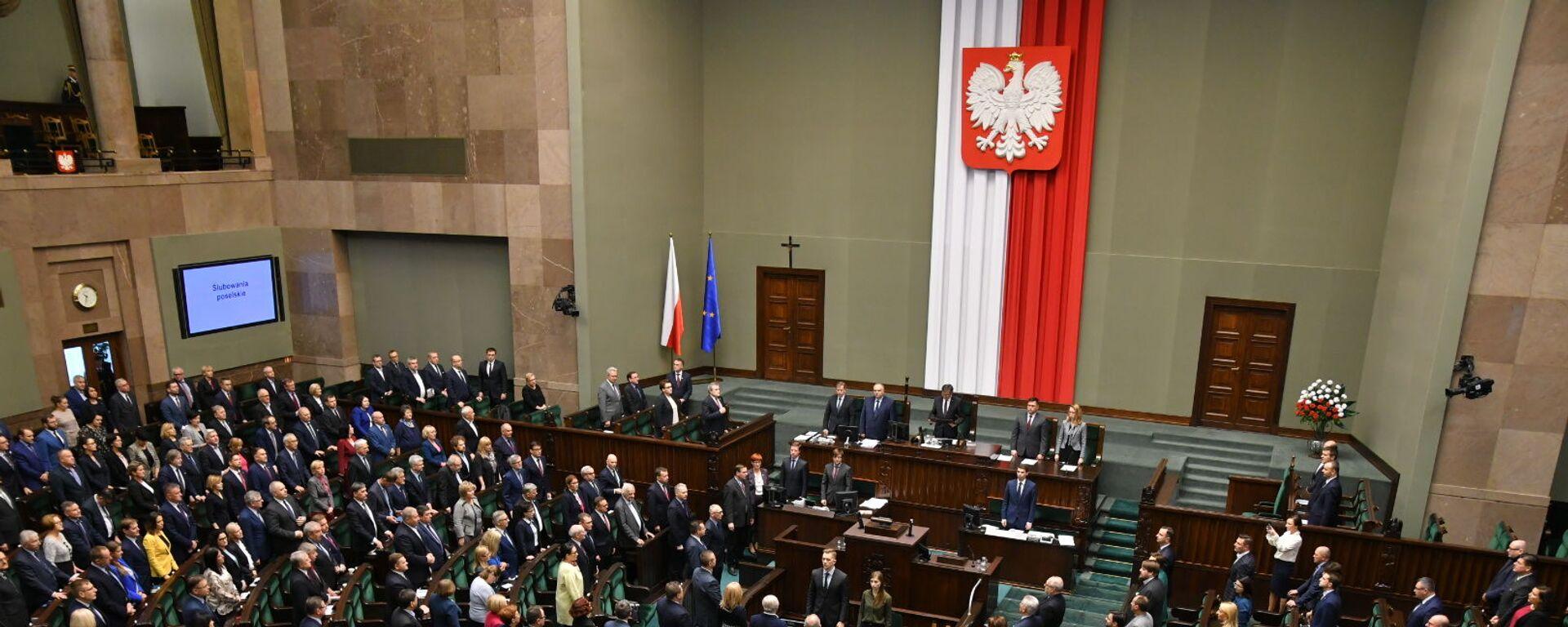 Otwarcie Sejmu RP IX kadencji - Sputnik Polska, 1920, 10.03.2021