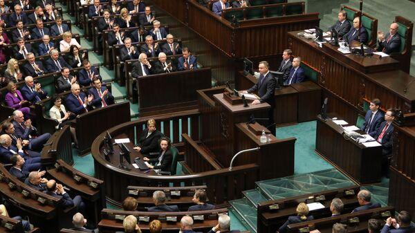 Otwarcie Sejmu RP IX kadencji - Sputnik Polska
