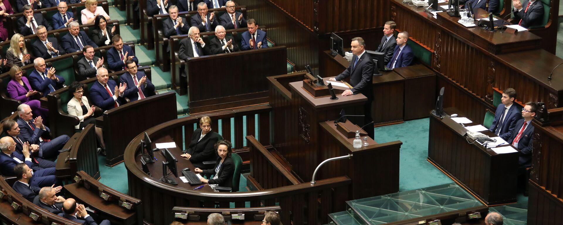 Otwarcie Sejmu RP IX kadencji - Sputnik Polska, 1920, 20.11.2019