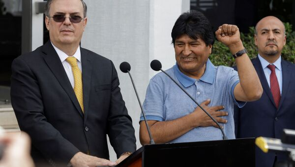 Były prezydent Boliwii Evo Morales w Meksyku - Sputnik Polska