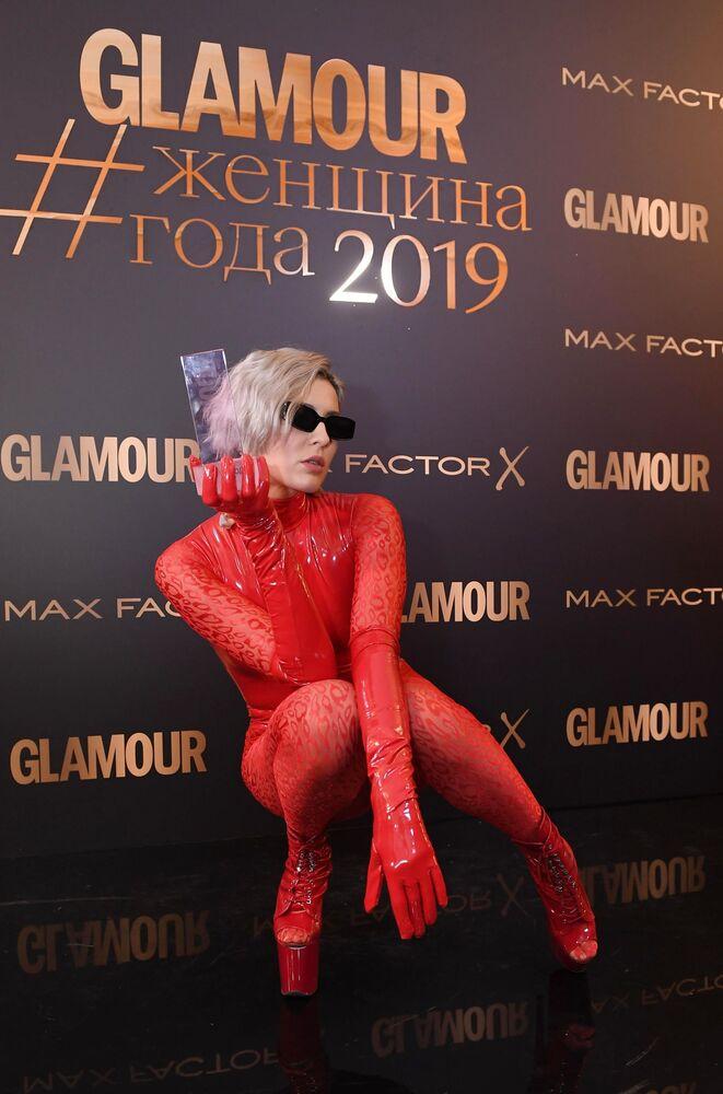 Piosenkarka Maruv nominowana w kategorii Piosenkarka roku po ceremonii wręczenia rozdania nagród czasopisma Glamour Kobieta roku - 2019