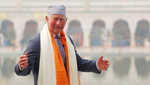 Brytyjski książę Karol w czasie wizyty w Indiach - Sputnik Polska