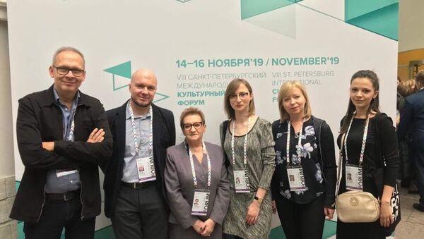 Polscy uczestnicy VIII Międzynarodowego Forum Kultury w Petersburgu - Sputnik Polska