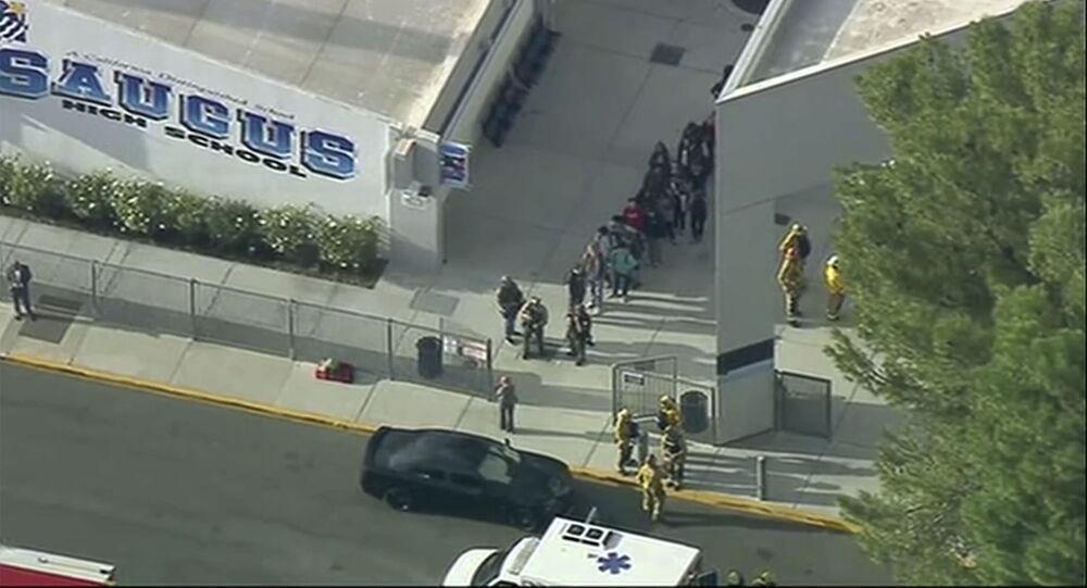 Strzelanina w Saugus High School w Santa Clarita, w stanie Kalifornia