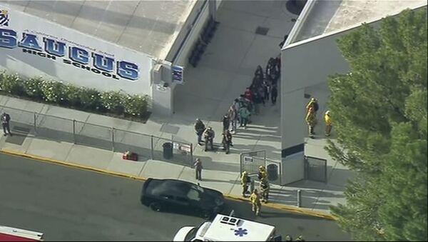Strzelanina w Saugus High School w Santa Clarita, w stanie Kalifornia - Sputnik Polska
