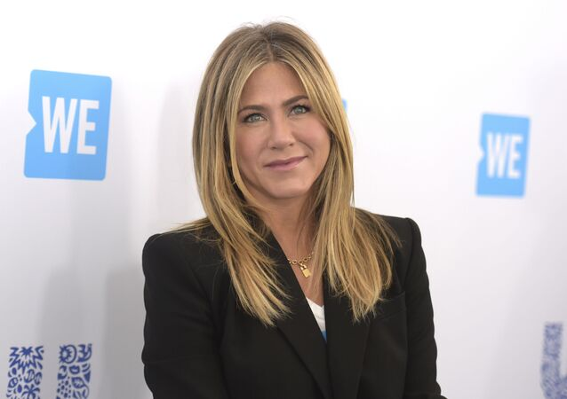 Jennifer Aniston w 2018 roku