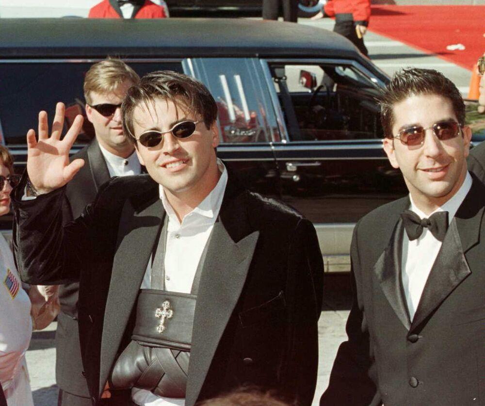 Matt LeBlanc i David Schwimmer, 1996 rok