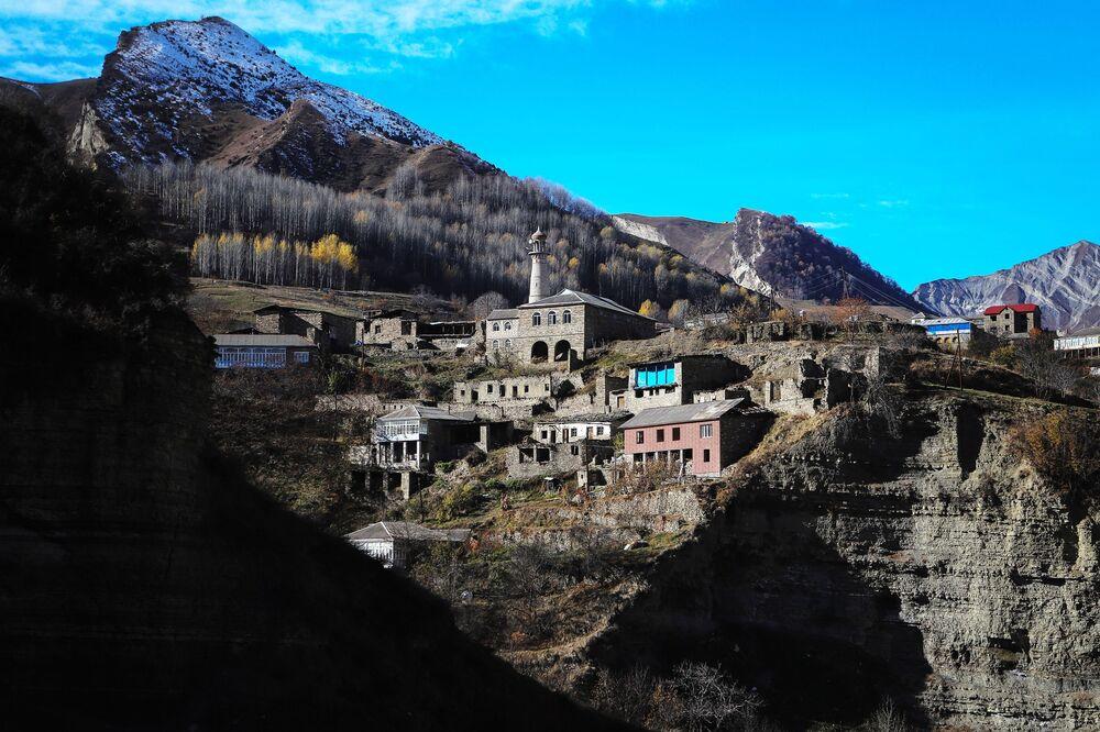 Meczet w górach Dagestanu