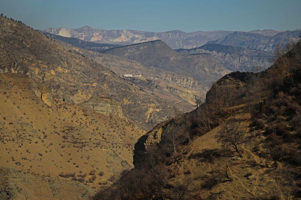 Jesień w górach Dagestanu