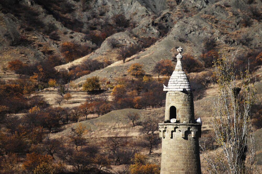 Wieś Koroda w Dagestanie