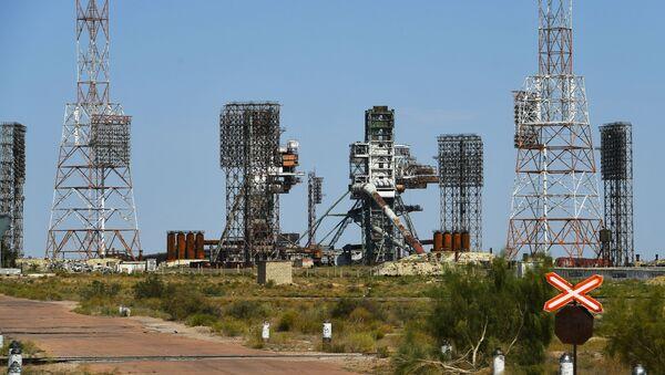UKSS 17P31 dla rakiety Energia na kosmodromie Bajkonur - Sputnik Polska