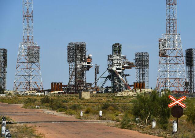 UKSS 17P31 dla rakiety Energia na kosmodromie Bajkonur