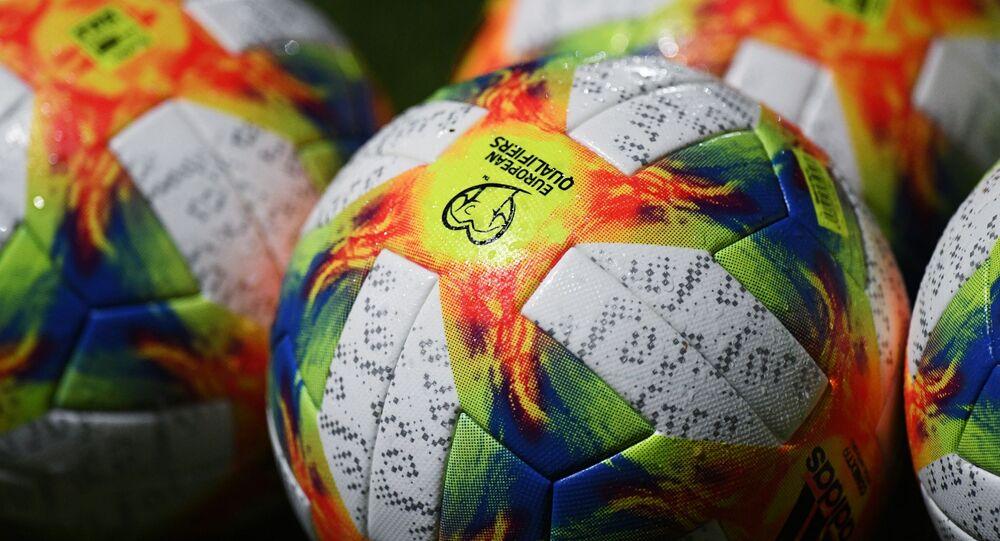 Piłki dla meczy eliminacyjnych mistrzostw Europy w piłce nożnej 2020