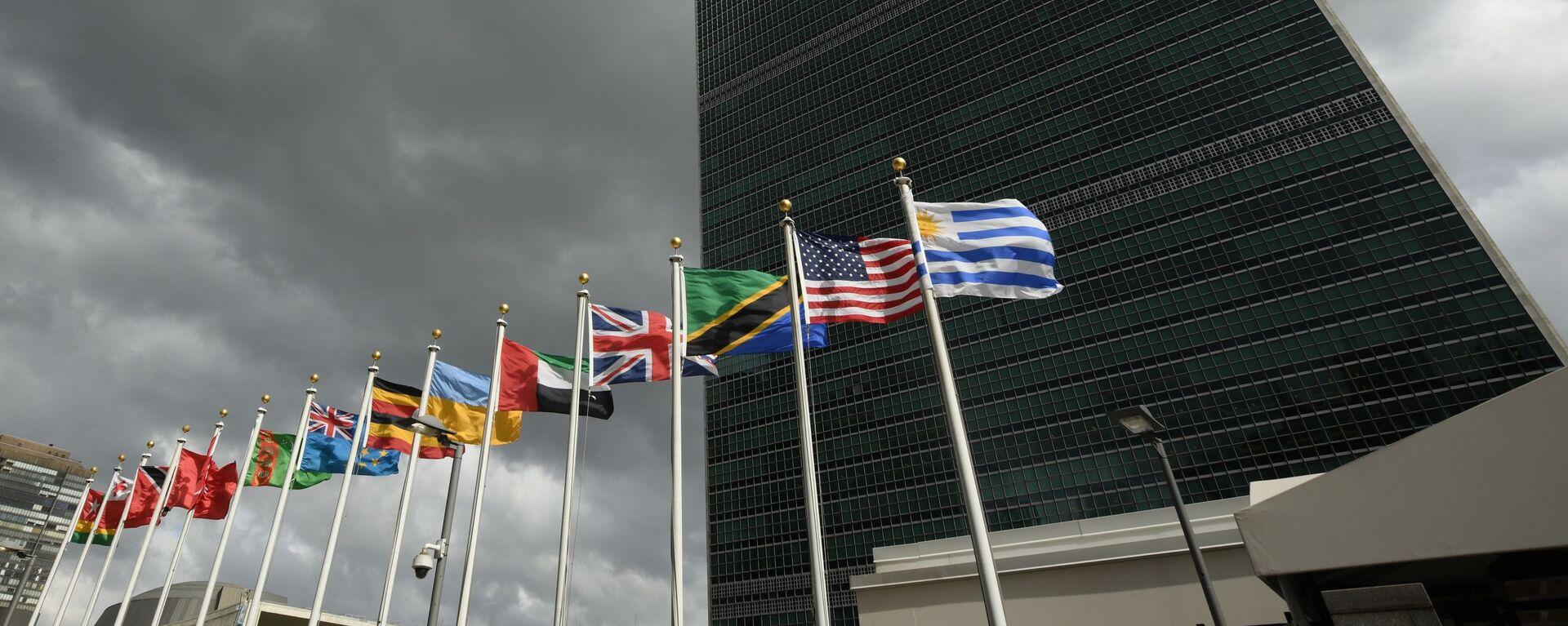 Siedziba ONZ w Nowym Jorku - Sputnik Polska, 1920, 16.07.2021