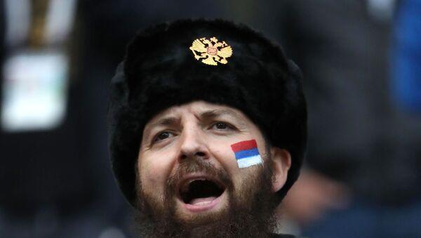 Serbski kibic - Sputnik Polska