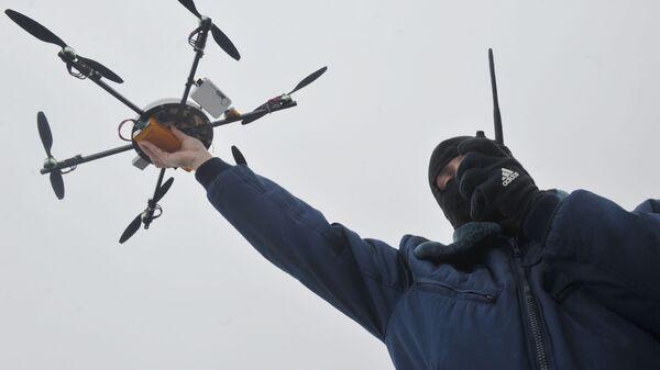 Dron wykorzystywany przez rosyjskie organy ścigania. - Sputnik Polska