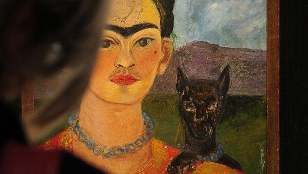 Autoportret z portretem Diego na piersi i Marii między brwiami - Sputnik Polska