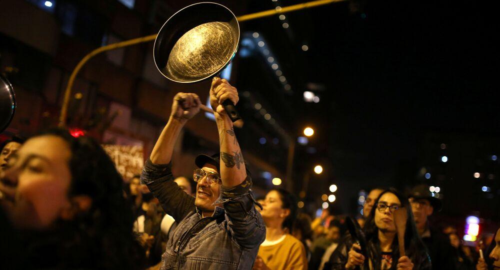 Protesty w Bogocie