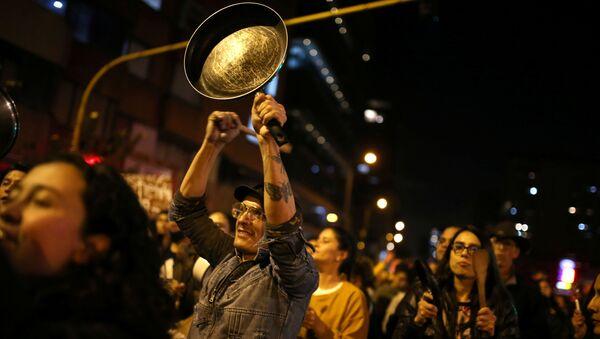 Protesty w Bogocie - Sputnik Polska