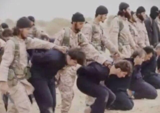 jeńcy ISIS