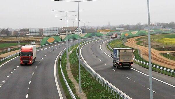 Trasa Via Baltica - Sputnik Polska