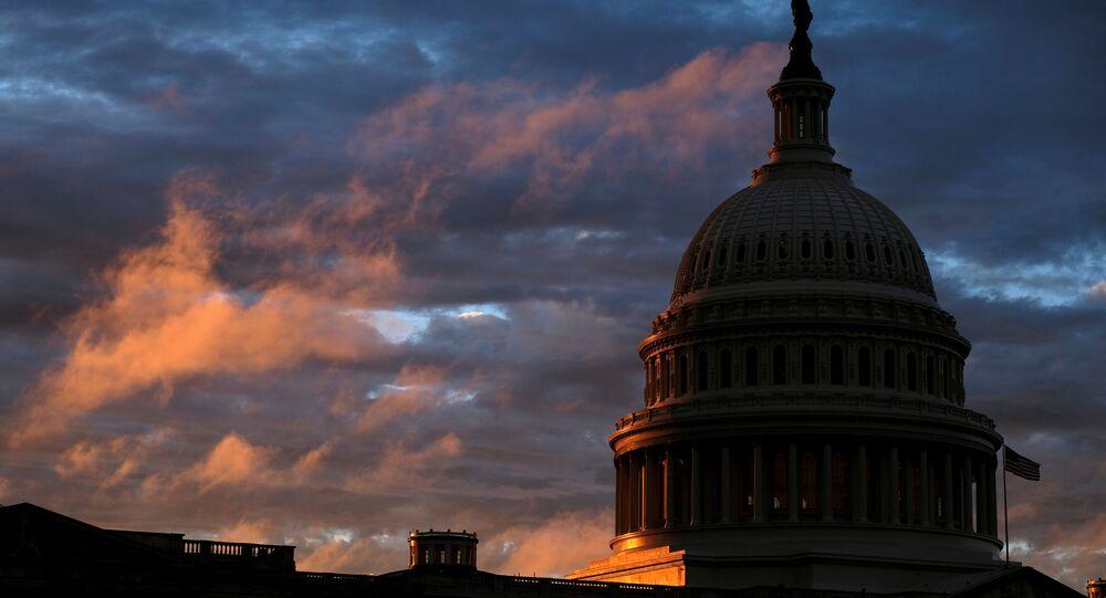 Siedziba Kongresu USA w Waszyngtonie.