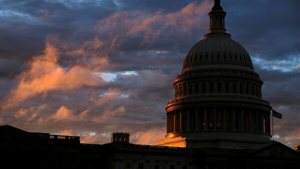 Siedziba Kongresu USA w Waszyngtonie.  - Sputnik Polska